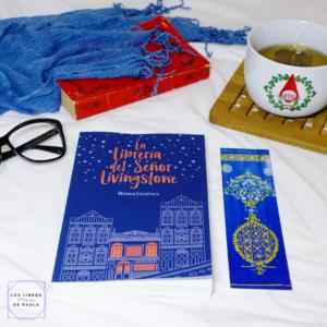 La librería del señor Livingstone, Mónica Gutiérrez - instagram loslibrosdepaula