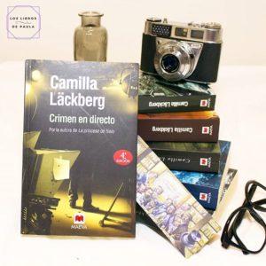 Crimen en directo, Los crímenes de Fjällbacka 4, Camilla Läckberg - Instagram loslibrosdepaula