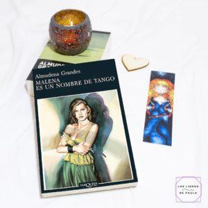 Malena es un nombre de tango, Almudena Grandes - Instagram loslibrosdepaula