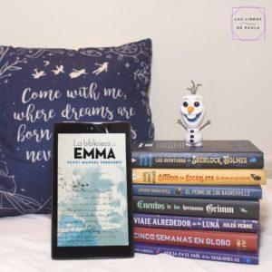 La biblioteca de Emma, Yauci Manuel Fernández - Instagram loslibrosdepaula