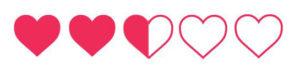 dos corazones y medio